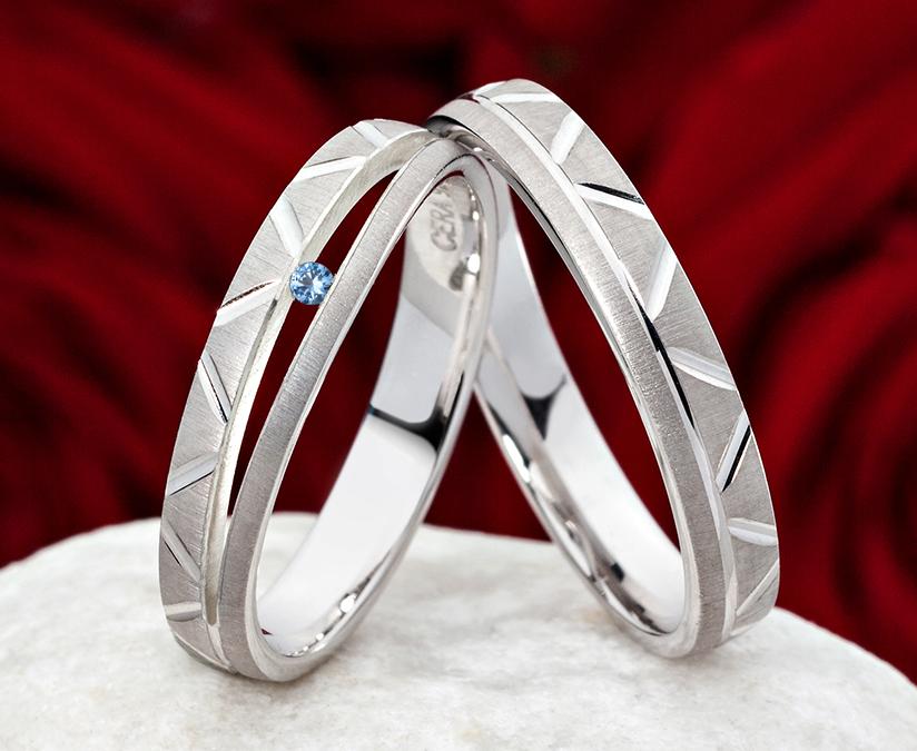... Verlobungsring e Eheringe Trauringe Hochzeitsringe Partnerringe CR57T